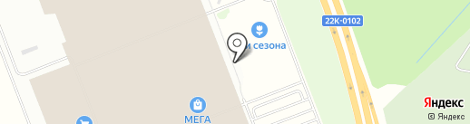 ОчиО на карте Федяково