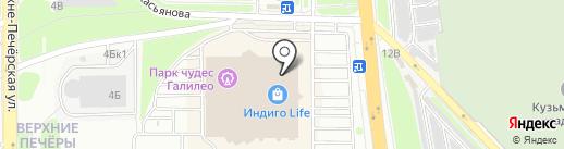 Vrubel Style на карте Нижнего Новгорода