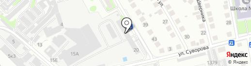 FS152 на карте Бора