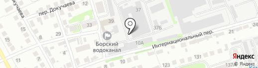 DavydovAutoGlass на карте Бора