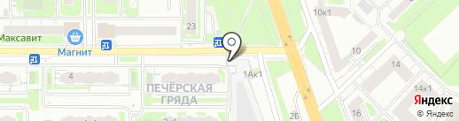 Ваш юрист-Ваш консультант на карте Нижнего Новгорода