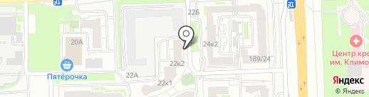 ТривиУм на карте Нижнего Новгорода