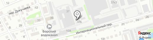 АгроТранс на карте Бора