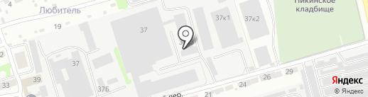 MaximusNN на карте Бора