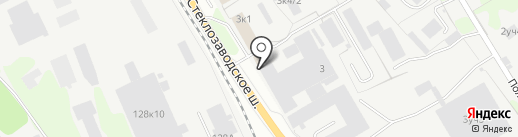 Рубильник на карте Бора