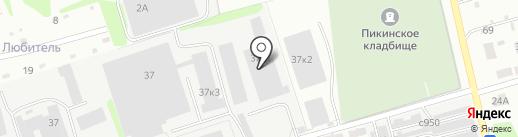 Цитрон-Пласт на карте Бора