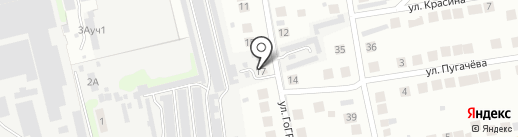 Das Auto на карте Бора