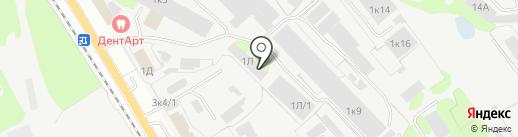 Элтехком на карте Бора