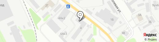 Еврогипс на карте Бора
