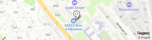 Infiniti АГАТ-Премиум на карте Афонино