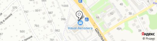 Автолига на карте Афонино