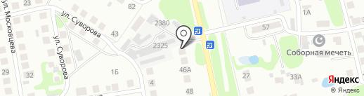 Шиномонтажная мастерская на Комсомольской, 2 к1 на карте Бора