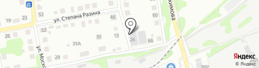 Диен-Мебель на карте Бора