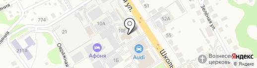 Афоня на карте Афонино