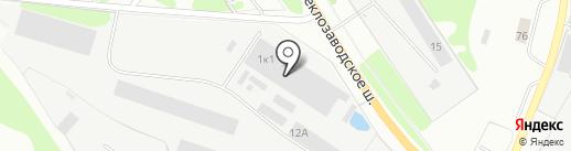 Лесотарасервис на карте Бора
