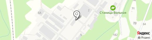 Производственно-торговая компания на карте Ржавки