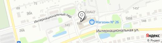 Селена на карте Бора