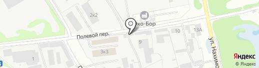 Оника+ на карте Бора