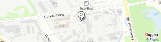 Диал на карте Бора