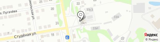 Автодеталь на карте Бора