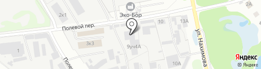Борский цех камнеобработки на карте Бора