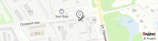 Булат на карте Бора