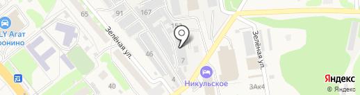 Онли-строй на карте Афонино