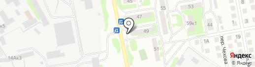 Магазин автозапчестей на карте Бора