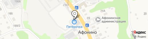 Пятерочка на карте Афонино