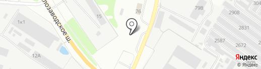 АЗС на карте Бора