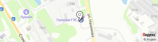 АГЗС на карте Бора
