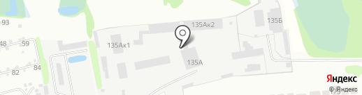 Борская ДПМК на карте Бора