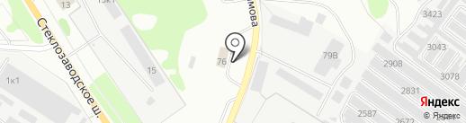 Автомойка на карте Бора