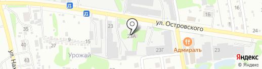 Айболит на карте Бора