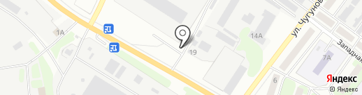 КонГрестМет на карте Бора