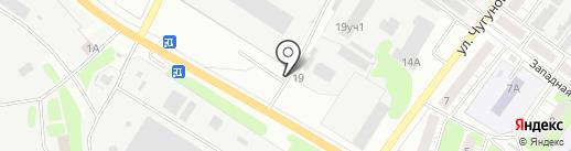 Монумент на карте Бора