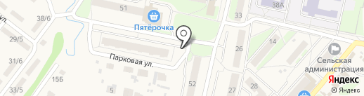 Артезианский источник на карте Ждановского