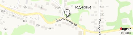 Продовольственный магазин на карте Нижнего Новгорода