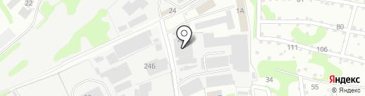 КМК GLASS на карте Бора
