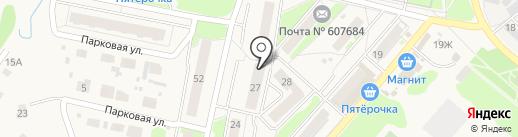 Нижегородстрой на карте Ждановского