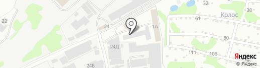 База строительных материалов на карте Бора