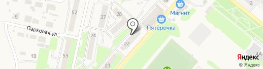 Парикмахерская на Школьной на карте Ждановского