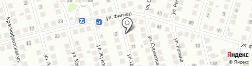 Пенный погребок на карте Бора