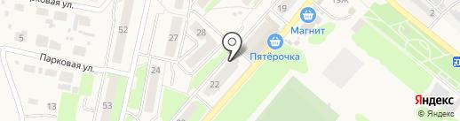 Магазин крепежа и электротоваров на карте Ждановского