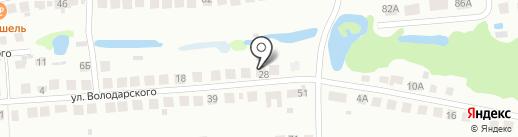 Служба эвакуации автомобилей на карте Бора
