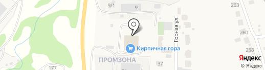 Зелёный город на карте Ржавки