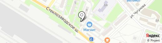 Бочка на карте Бора