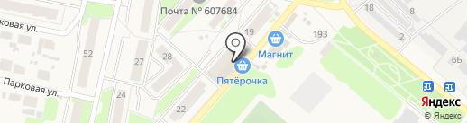 Магазин одежды на карте Ждановского