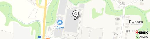 Эс-Эн-Джи ГЛОБАЛ ТРЕЙДИНГ на карте Ржавки
