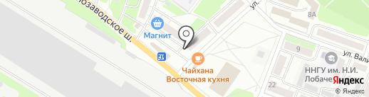 Евросеть на карте Бора